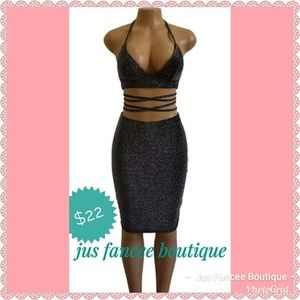 Dresses & Skirts - 2 piece Bra Top with Skirt